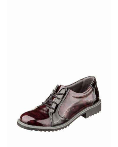 Кожаные ботинки бордовый 2019 Suave