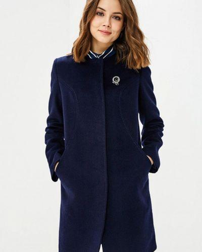 Синее пальто демисезонное La Reine Blanche