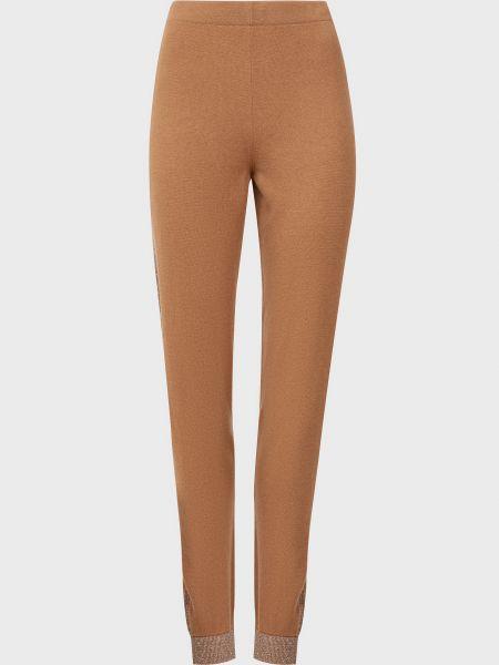 Шерстяные брюки - бежевые D.exterior