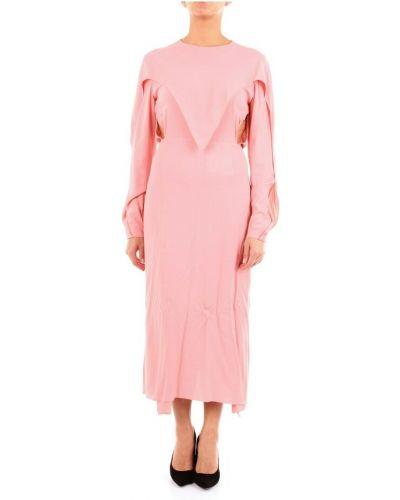 Różowa sukienka długa Stella Mccartney