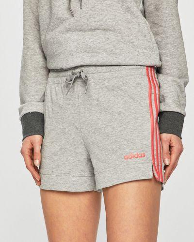 Спортивные шорты серые Adidas Performance