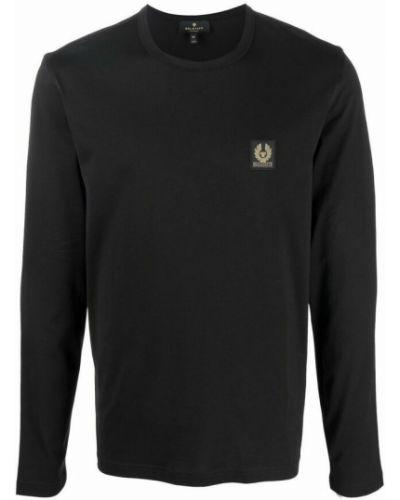 Czarna t-shirt Belstaff