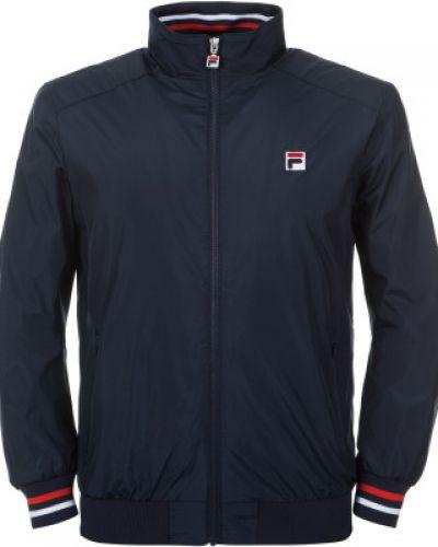 Спортивная куртка с капюшоном укороченная Fila