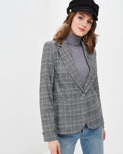 Пиджак серый итальянский Piazza Italia