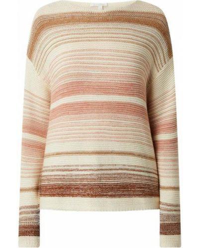 Sweter w paski - beżowy Tom Tailor Denim