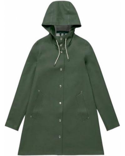 Zielony płaszcz przeciwdeszczowy Stutterheim