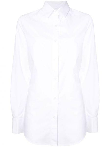 Рубашка с воротником с вышивкой с манжетами Dresshirt