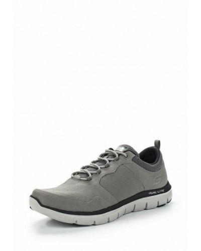 Серые кроссовки Skechers