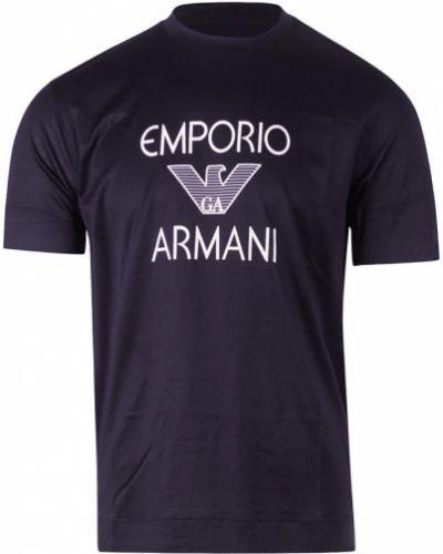Czarna podkoszulka Emporio Armani