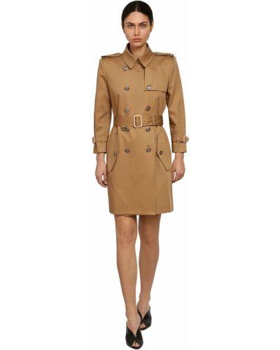Пальто двубортное с воротником с карманами Givenchy