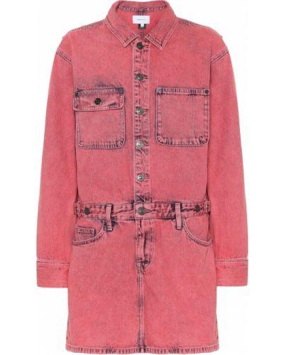 Джинсовое платье розовое Current/elliott