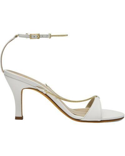 Sandały - białe Maryam Nassir Zadeh