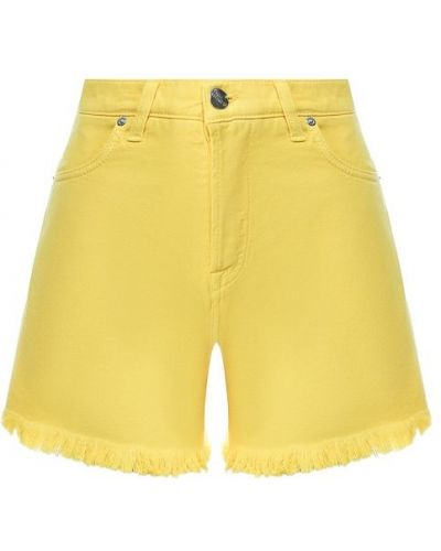 Джинсовые шорты желтый Two Women In The World