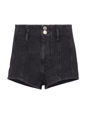 Czarne jeansy bawełniane Isabel Marant