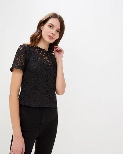 Блузка кружевная черная Jennyfer