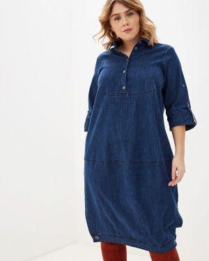 Джинсовое платье осеннее синее Berkline
