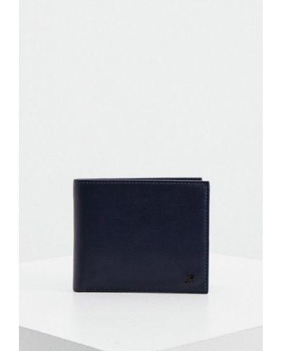 Синий кожаный кошелек John Richmond