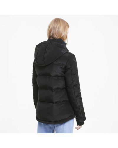 Черная куртка на молнии Puma