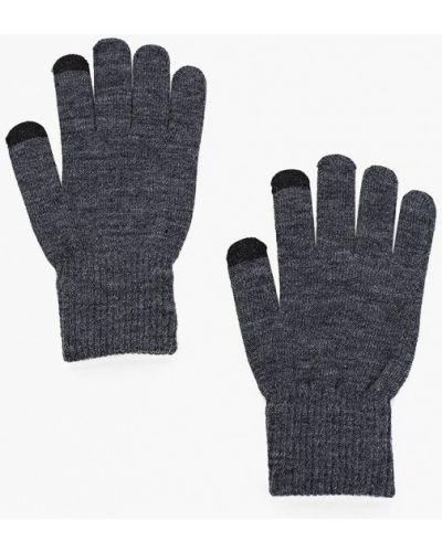 Перчатки - серые Luhta