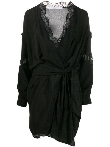 Платье мини с запахом с драпировкой Iro