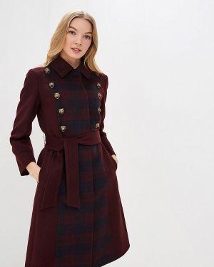 Пальто демисезонное бордовый Ruxara