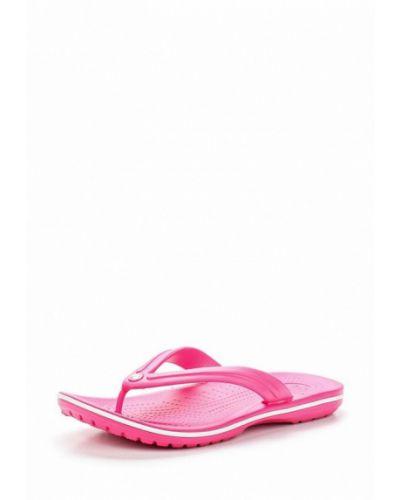 Шлепанцы розовый Crocs
