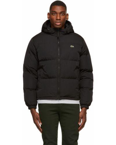 Дутая куртка - черная Lacoste