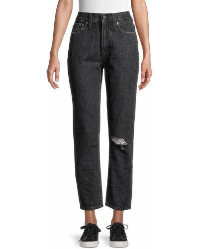 Хлопковые джинсы с карманами винтажные Madewell
