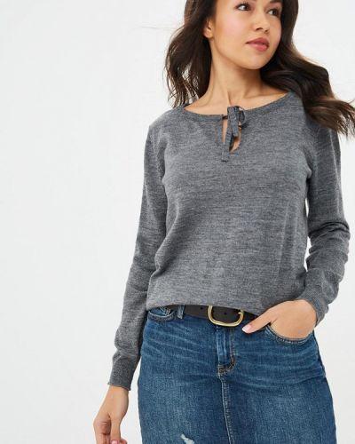 Пуловер серый Rodier