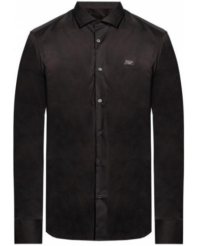 Czarna koszula casual Philipp Plein