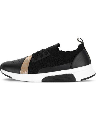 Кроссовки для бега черные на шнуровке Skechers