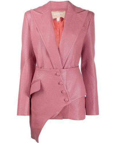 Розовый пиджак с карманами Matériel