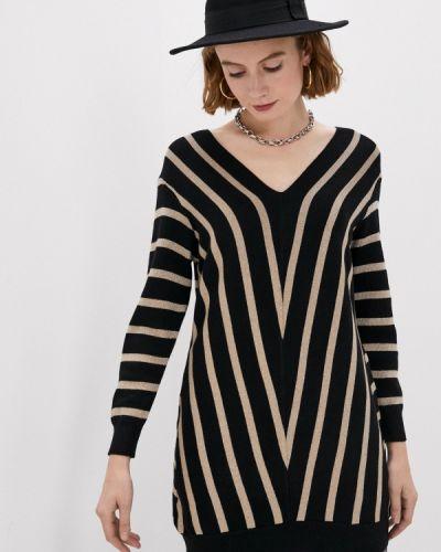 Черный пуловер Yumi