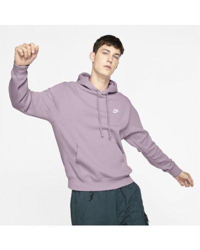 Klasyczna fioletowa bluza z kapturem Nike