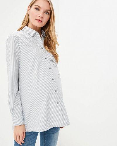 Блузка с длинным рукавом серая Budumamoy