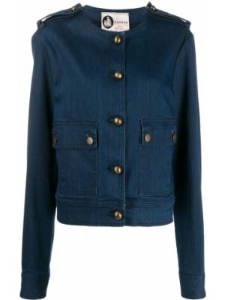 Синяя джинсовая куртка на пуговицах Lanvin Pre-owned