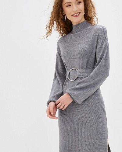 Платье - серое Bluoltre