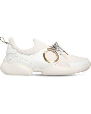 Кожаные кроссовки с перфорацией Coliac