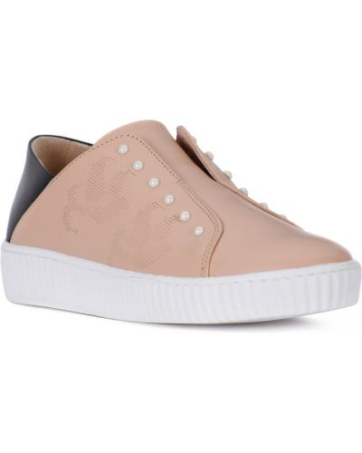 Różowe sneakersy Mjus