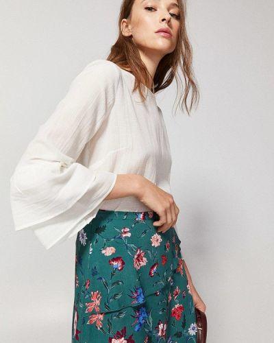 Блузка с рюшами осенняя Springfield
