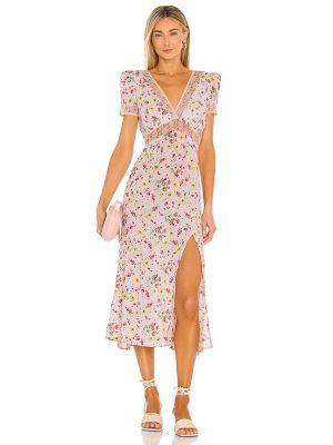 Кружевное платье - бежевое Lpa