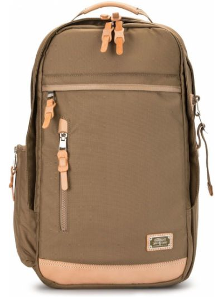 Нейлоновый рюкзак на бретелях с карманами на молнии As2ov
