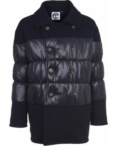 Czarny płaszcz Telfar