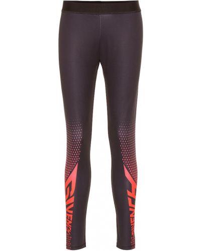 Черные спортивные леггинсы Givenchy