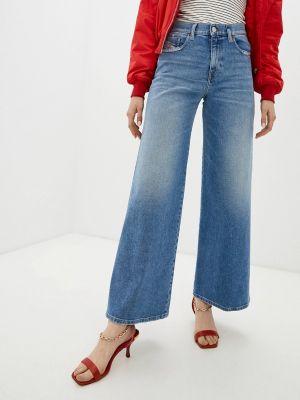 Расклешенные широкие джинсы Diesel