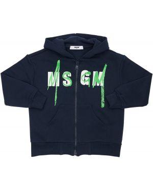 Bluza z logo Msgm