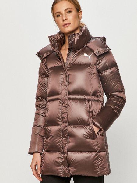 Прямая пуховая куртка с капюшоном Puma