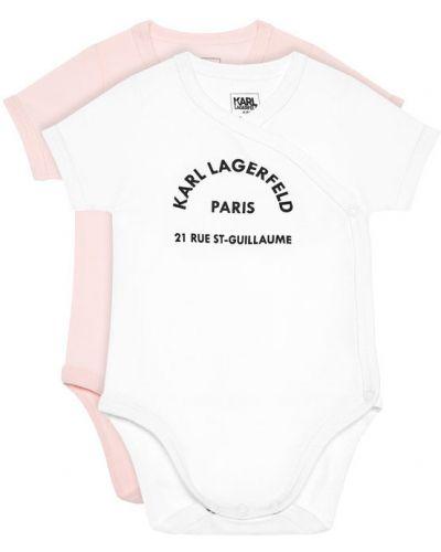 Różowy body Karl Lagerfeld