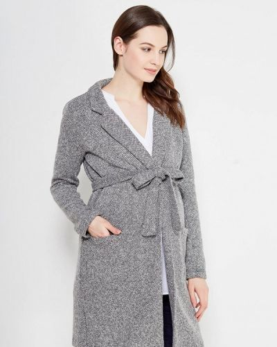 Серое пальто Mama.licious