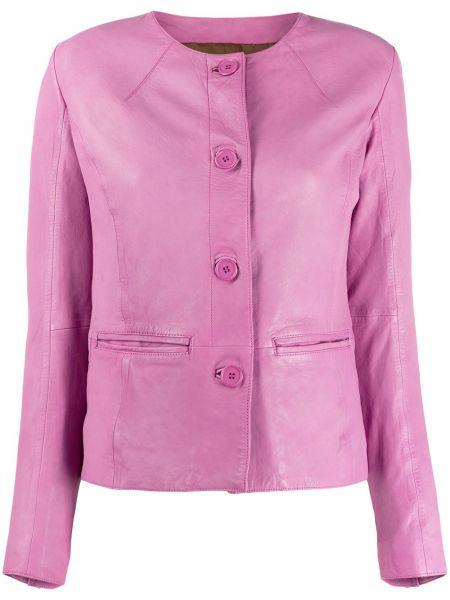 Розовый пиджак с манжетами S.w.o.r.d 6.6.44